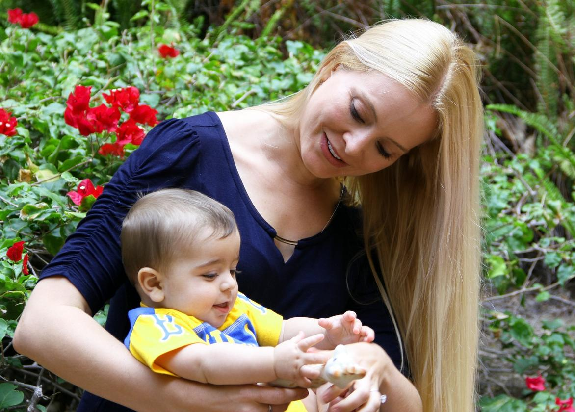 Ariana Anderson, PhD, is an assistant professor in residence at UCLA Semel Institute and a mother of four, who used her own experiences asa mother to create the ChatterBaby app