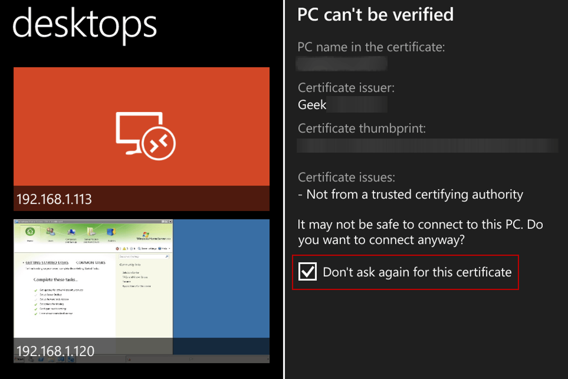 How to remotely access your home PC from Windows Phone 8 1
