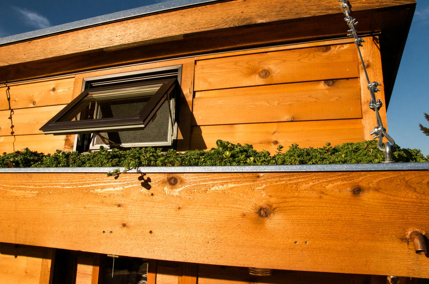 """Salsa Box sports """"Low-E"""" efficient windows, which are more reflective, but also offer more insulation (Photo: Shelter Wise)"""