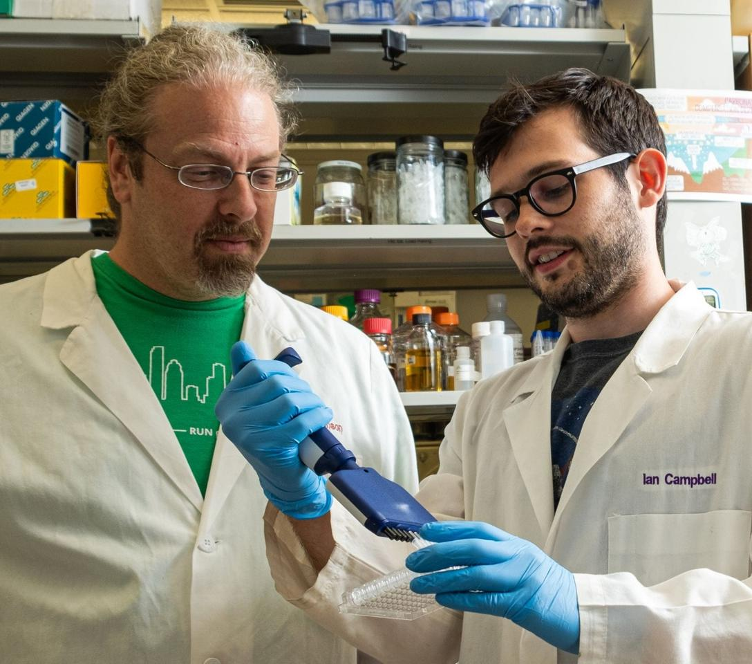 Joff Silberg (left) and Ian Campbell (right), Rice researchers on the study
