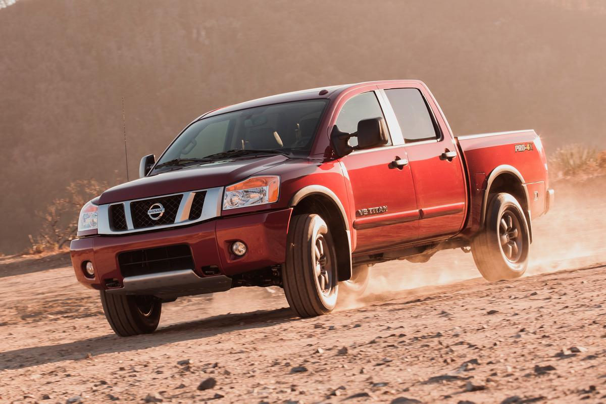 The stock 2014 Nissan Titan