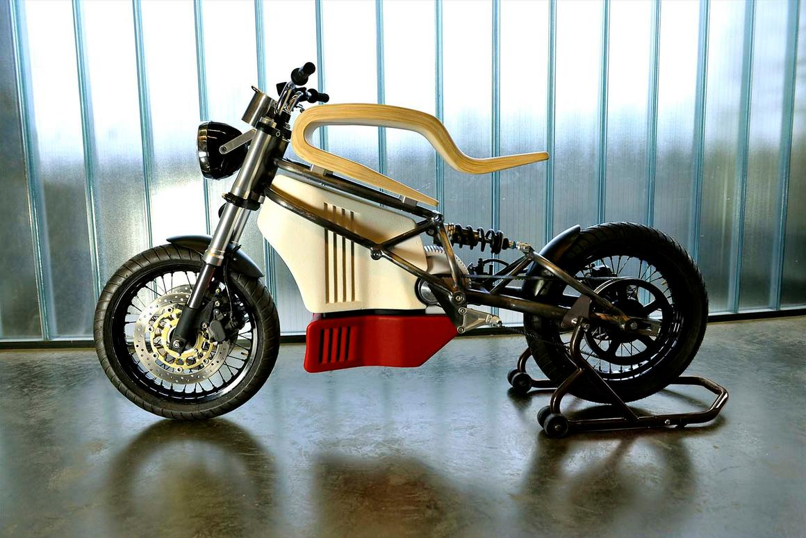 Martin Hulin's e-Raw electric motorcycle: electric motorcycle design can be worlds away from traditional petrol bike ideas