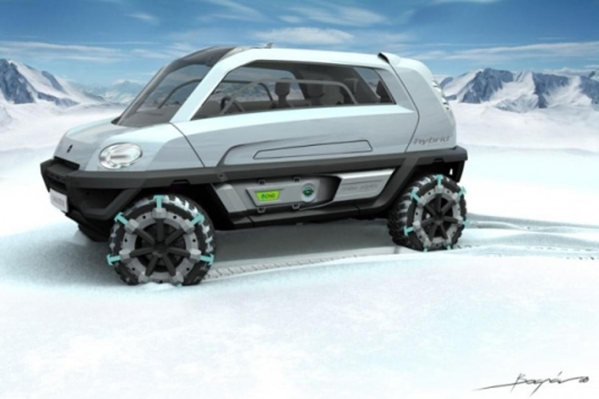 The MILA Alpin Concept from MAGNA STEYR