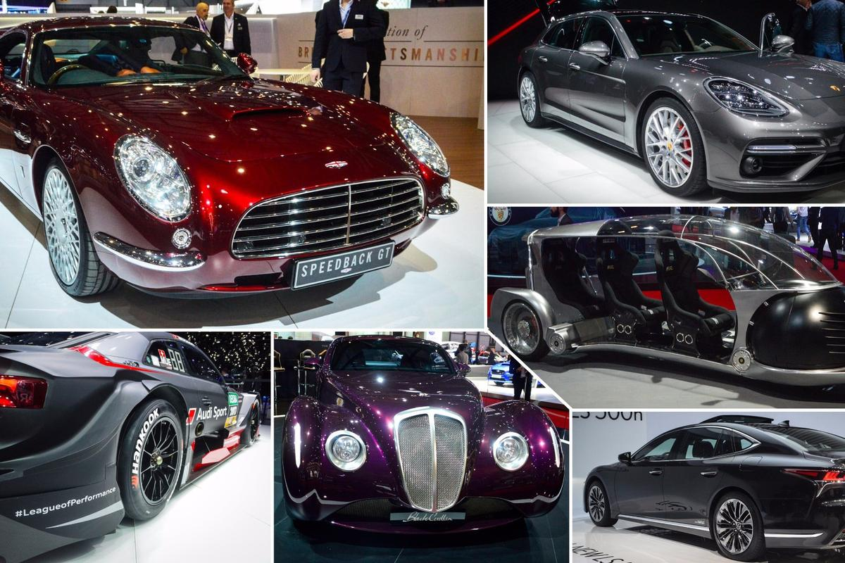 Sights from the floor ofthe 2017 Geneva Motor Show