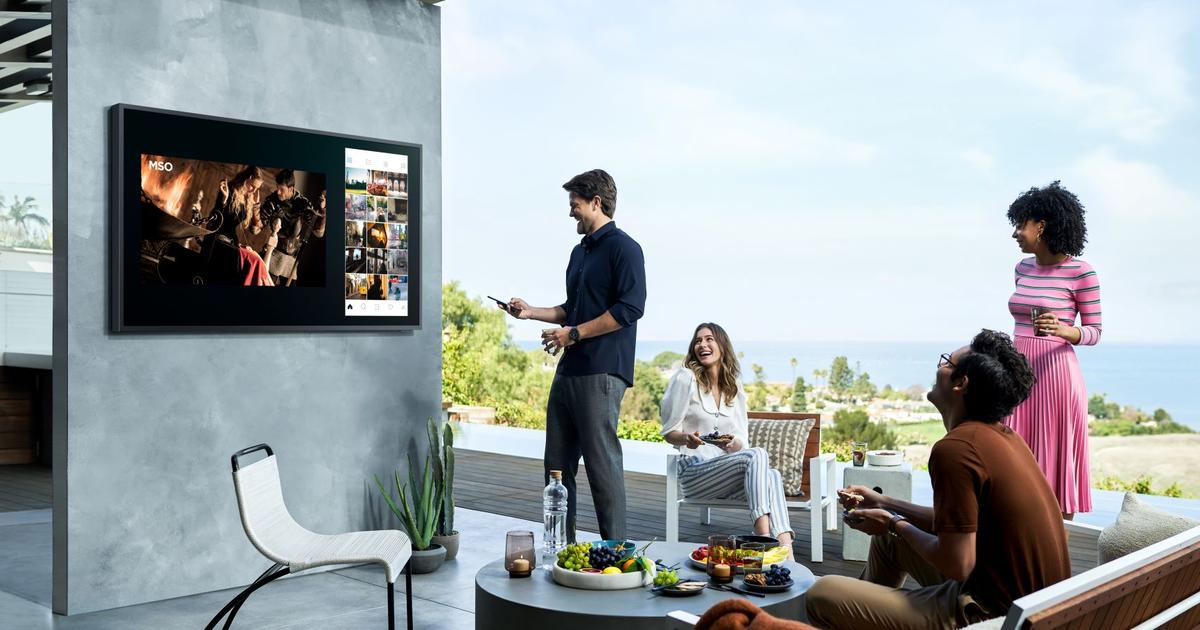 Samsung takes indoor entertainment outdoors with Terrace TVs