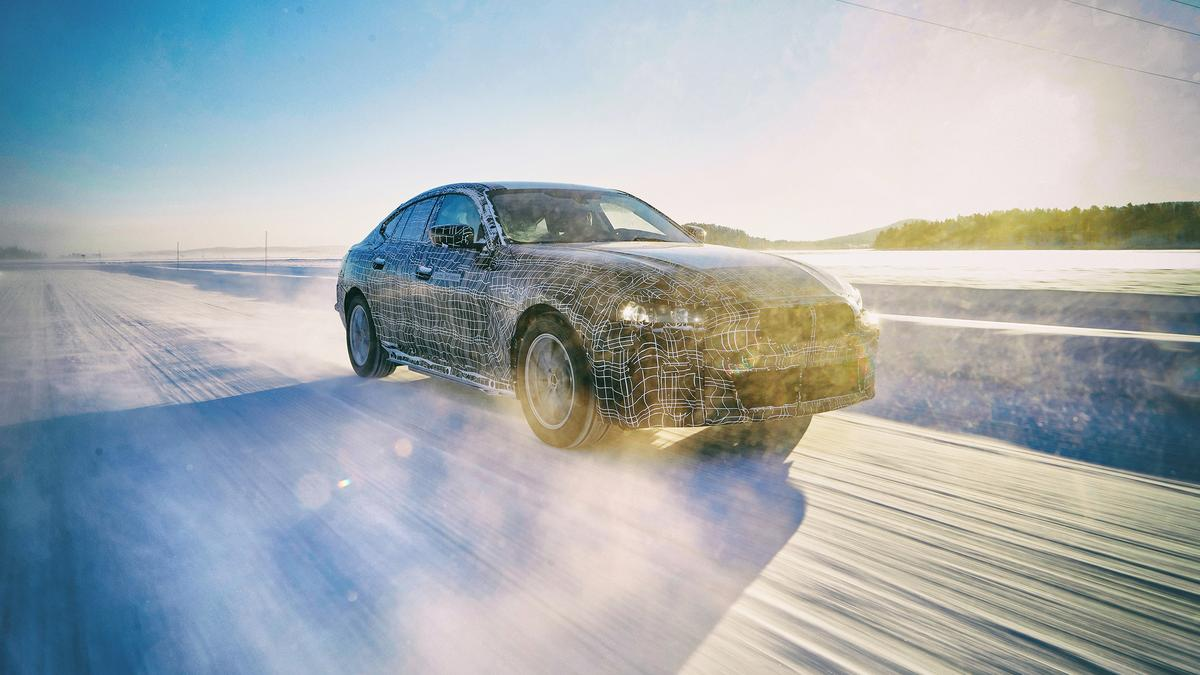 BMW looks ahead to the 373-mile all-electric i4 gran coupe