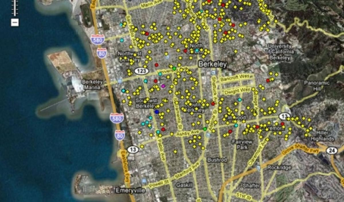 Berkeley solar map helps residents to calculate the size and cost of installing a rooftop solar panel