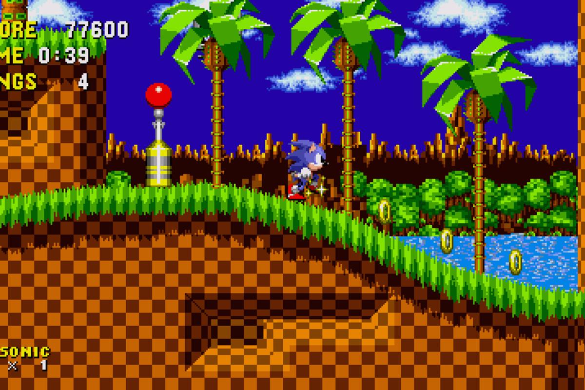 Included at launch of Sega Forever is the 1991 classic Sonic the Hedgehog