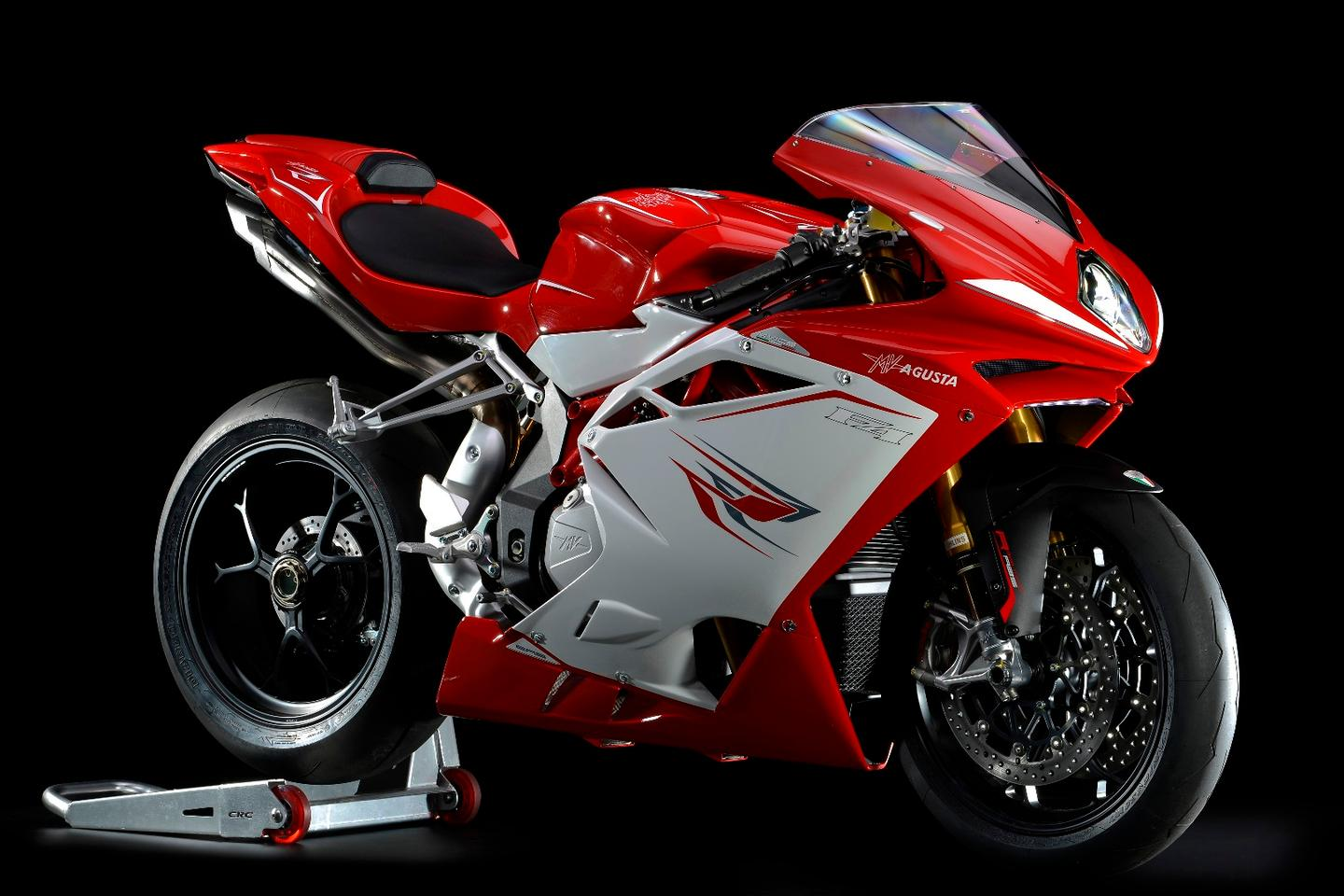 The 201 hp F4 RR is the latest superbike from MV Agusta – apparently it is soon to be replaced by a brand new model