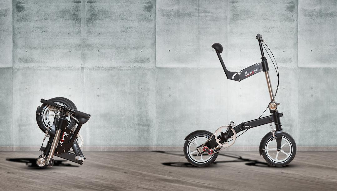 The Kwiggle Bike is one of the most compact folding bicycles in the world, and it's about to hit Kickstarter