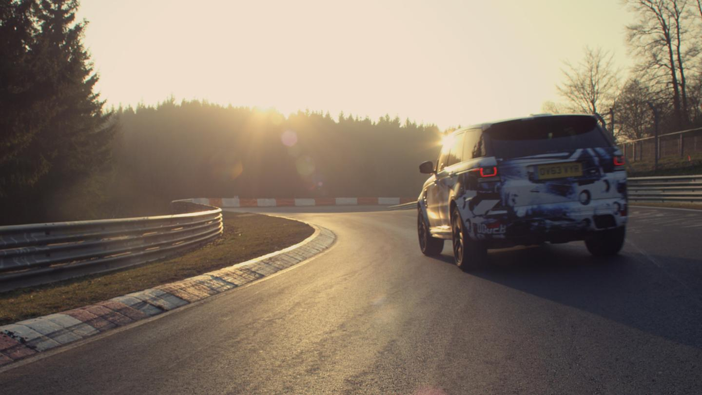 The Range Rover Sport SVR recently lapped Nürburgring in 8 minutes 14 seconds