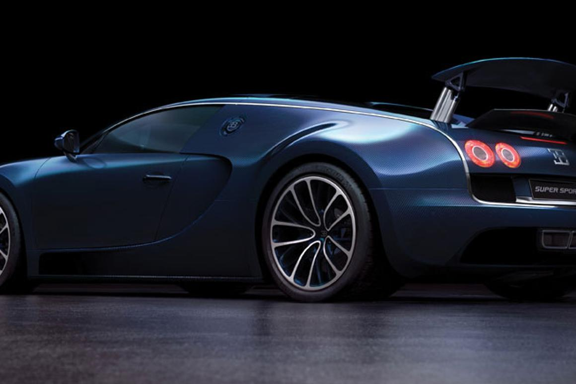 Bugatti's 268mph Veyron Super Sport - the world's fastest