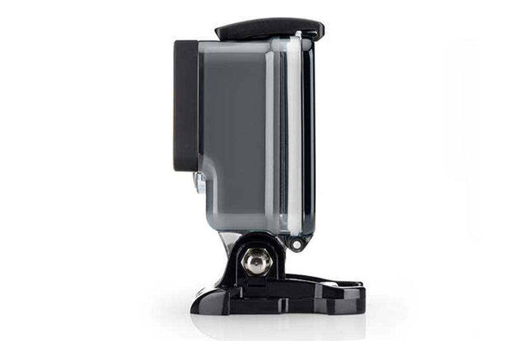 The GoPro Hero+ LCD action camera is rugged and waterproof to 40 m (131 ft)