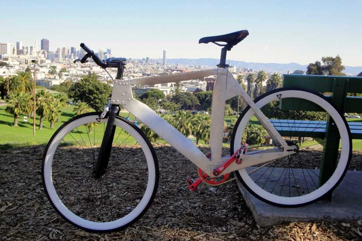 Ronin Bicycle Works is planning on manufacturing a line of bicycles with frames made from hand-folded sheet metal