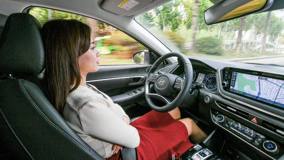 """Hyundai hasn't said exactly when its new cruise control tech will become available, only that it is planned for """"future implementation of Hyundai vehicles"""""""
