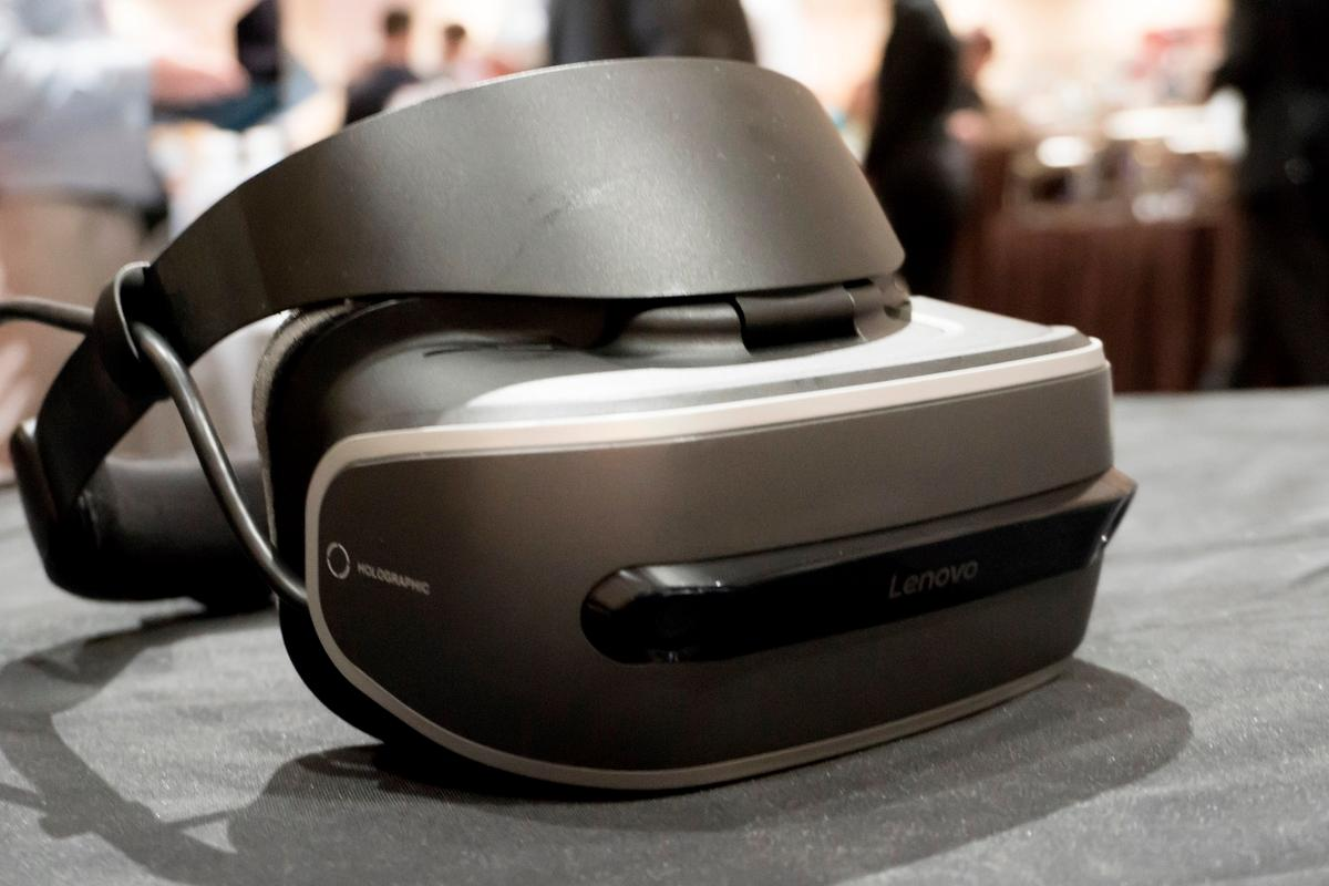 Lenovo's upcoming VR headset will work with PCs and fall in the $300-400 range