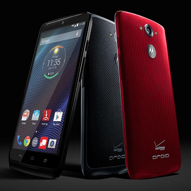 The Droid Turbo promises two full days on a single charge of its huge battery