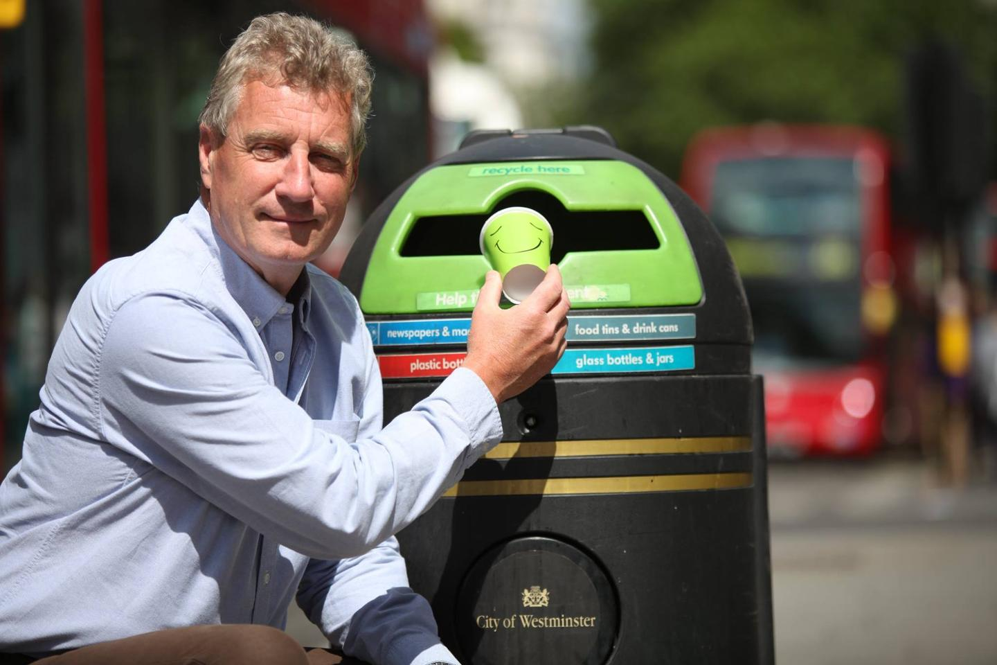Martin Myerscough believes that little changes in the way coffee cups are produced could avoid huge amounts of waste