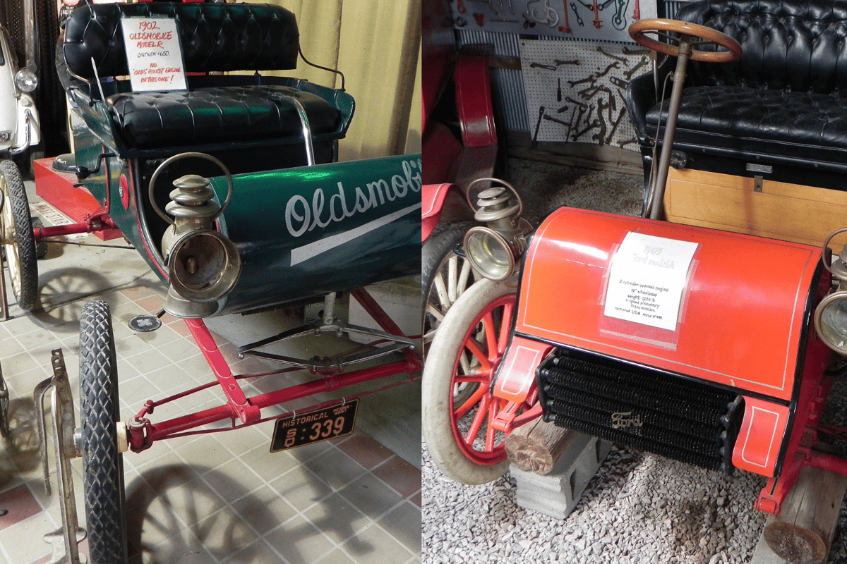Back in 1903, these were two of the best-selling cars on the road and they were from rivals who, at the time, were beginning their automotive empires