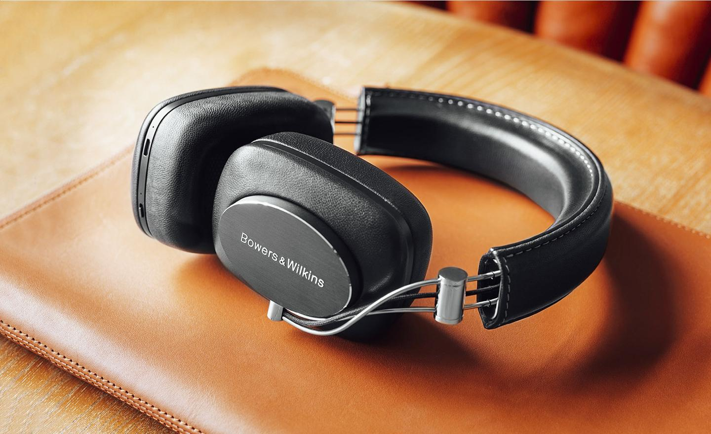 The Bowers & Wilkins P7 Wireless over-ear headphones