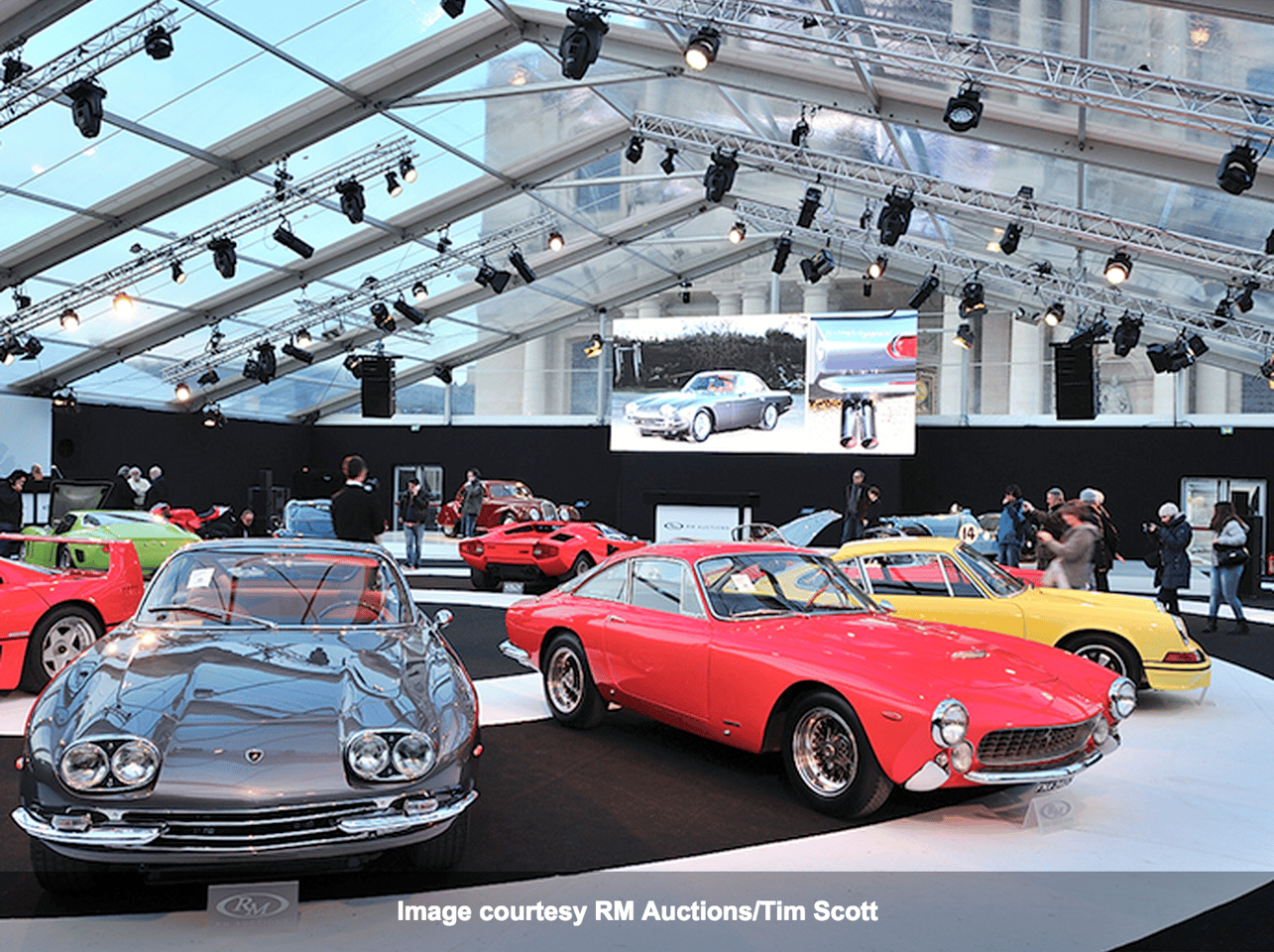 RM Auctions was one of the big three elite auction houses to hold a major auction in conjunction with the Retromobile festival in Paris this week.