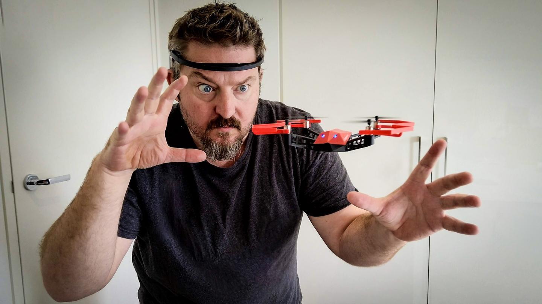 """The UDrone uses hands-free """"mind controls"""" via a sensor-heavy headset"""