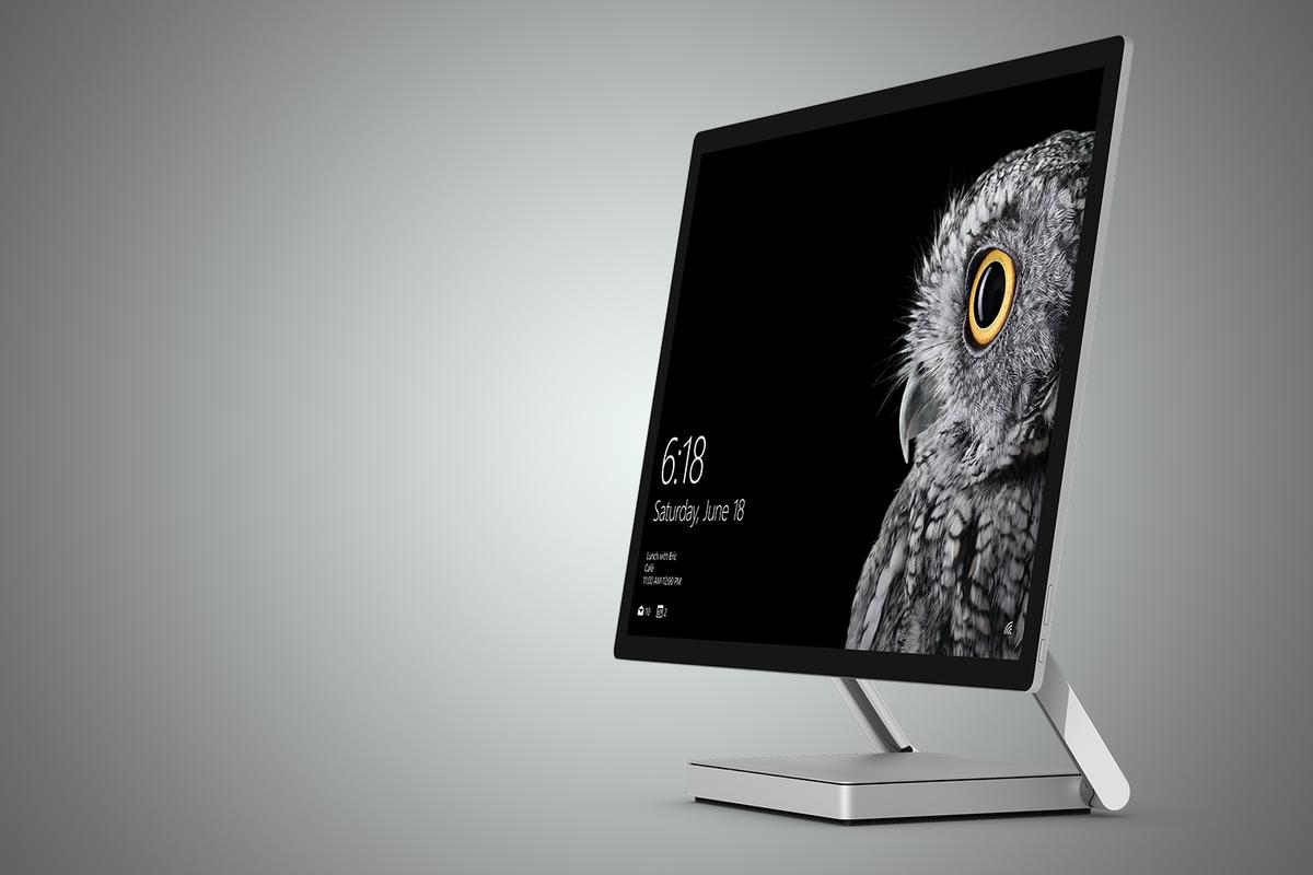 The highlight of today's announcements was Surface Studio, an all-in-one PCthat doubles as a digital drafting table of sorts