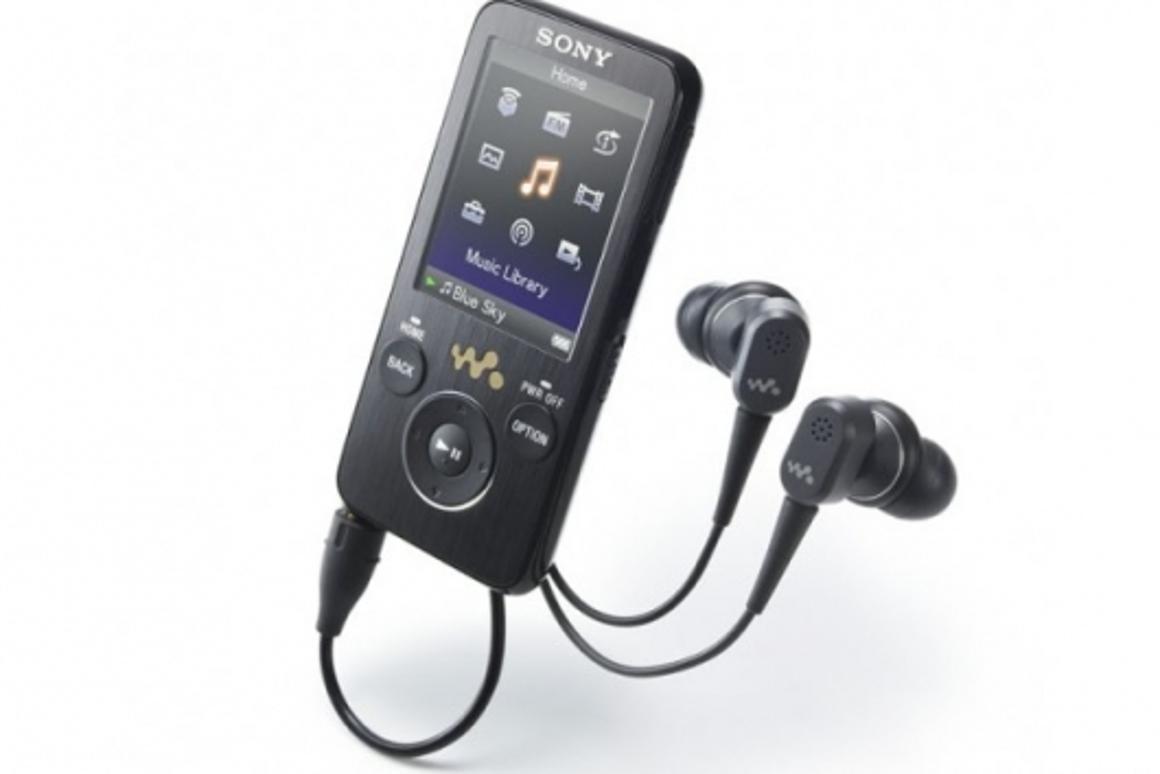 Sony's S series NWZ-S730 Walkman.