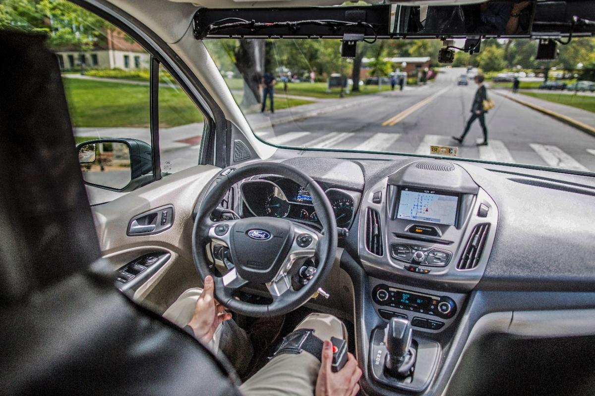 The (seemingly) driverless car has been driven more than 1,800 miles around dense urban environments