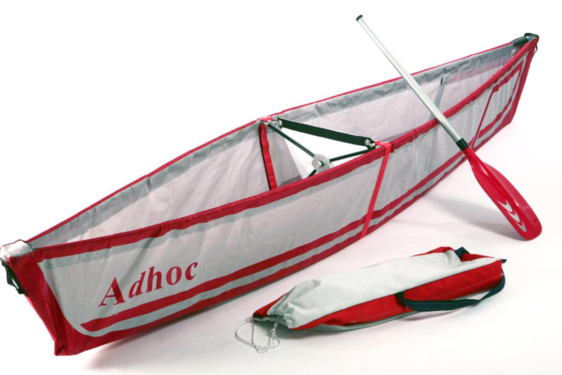 The Adhoc is a folding canoe that weighs just nine pounds, and assembles in about five minutes (Photo: Ori Levin)