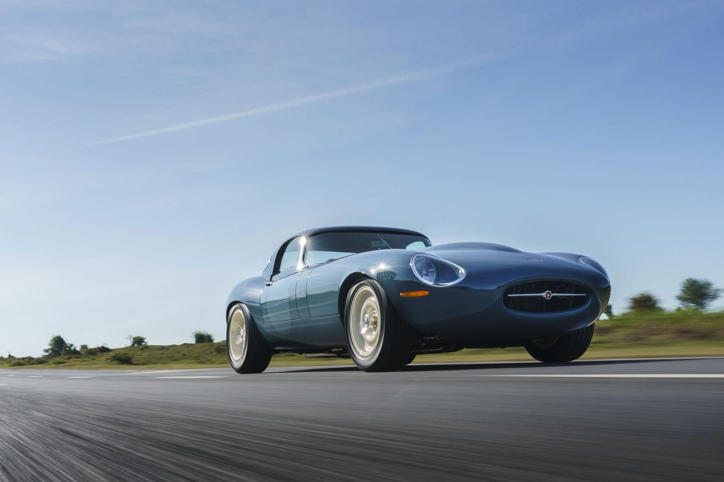 As gorgeous as the original but much more driver-friendly: the Eagle Lightweight GT
