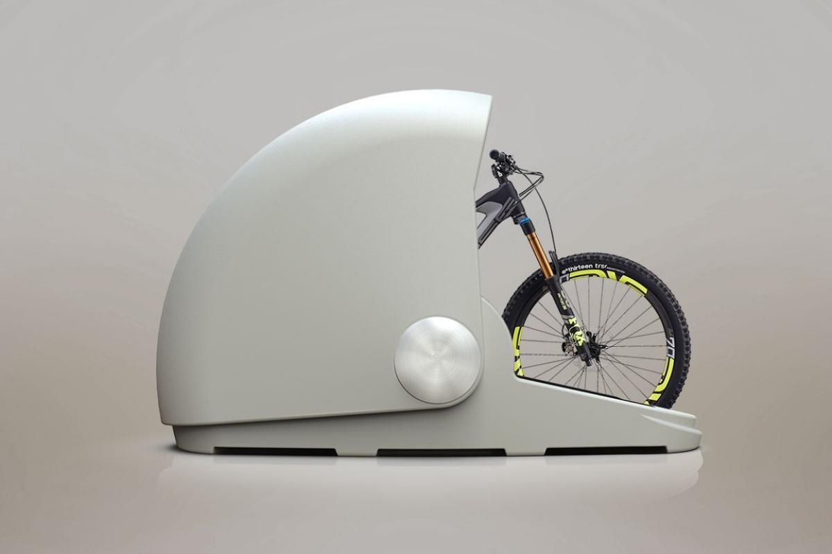The Alpen Bike Capsule is claimed to accommodate most kinds of bicycles