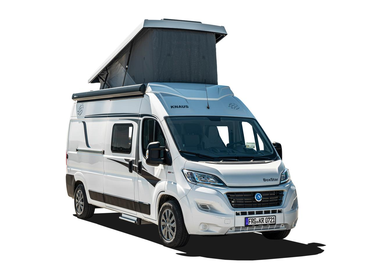 Knaus Boxstar 600 Street with new pop-up roof
