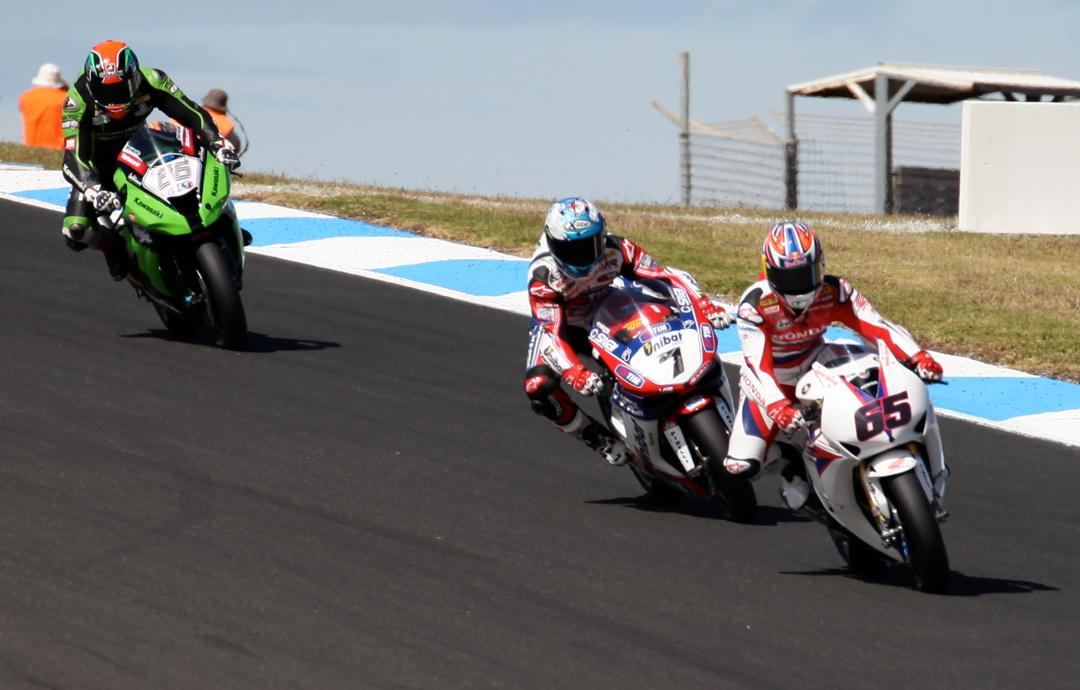 2012 World Superbikes at Phillip Island, Australia