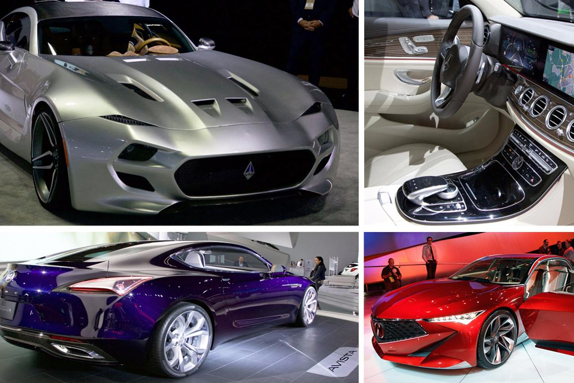 The best of the 2016 Detroit Motor Show