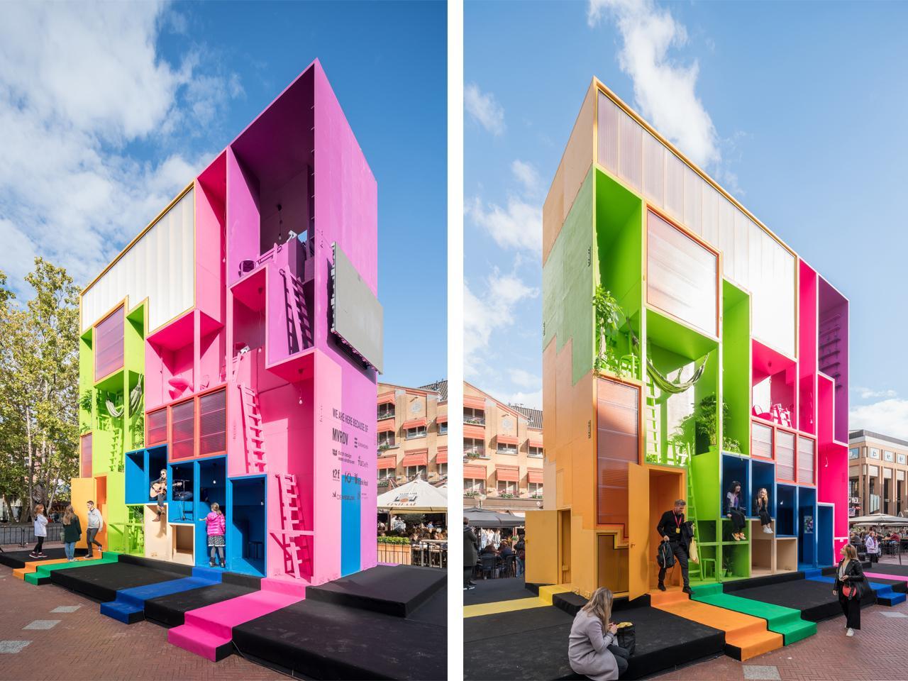 Dutch architecture firm MVRDV is no stranger to thinking outside the box
