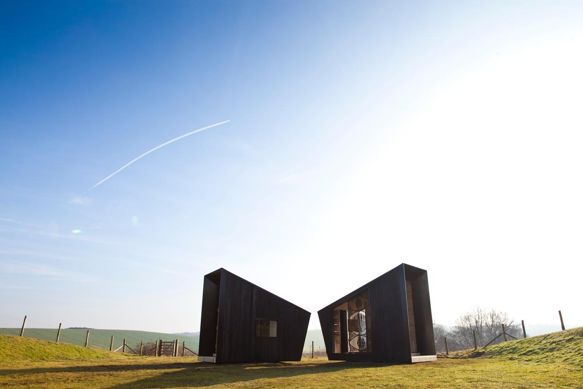 The Observatory is currently installed in the South Downs National Park (Photo: Matt Dunkinson for SPUD)