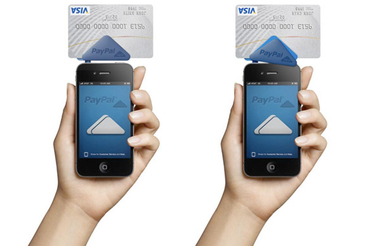 PayPal has introduced its new Here cardreader system for smartphones