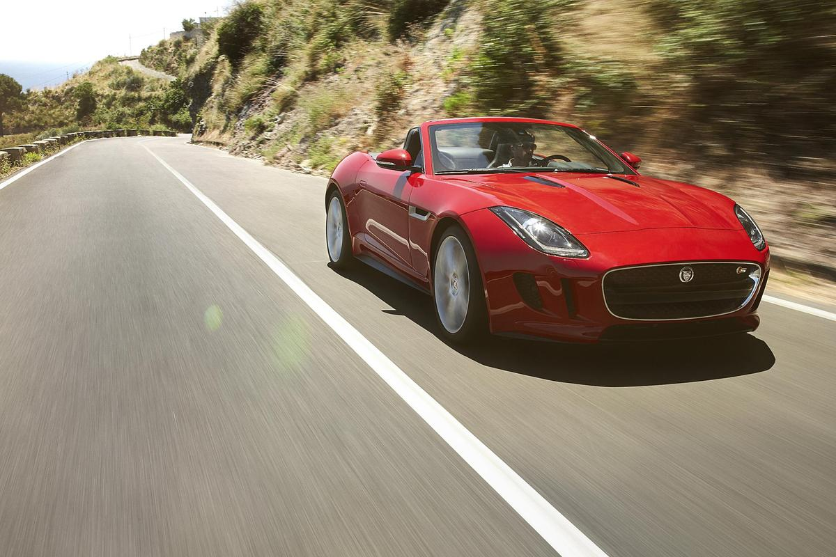 Jaguar unveiled the F-Type at an exclusive event on the night before the Paris Motor Show