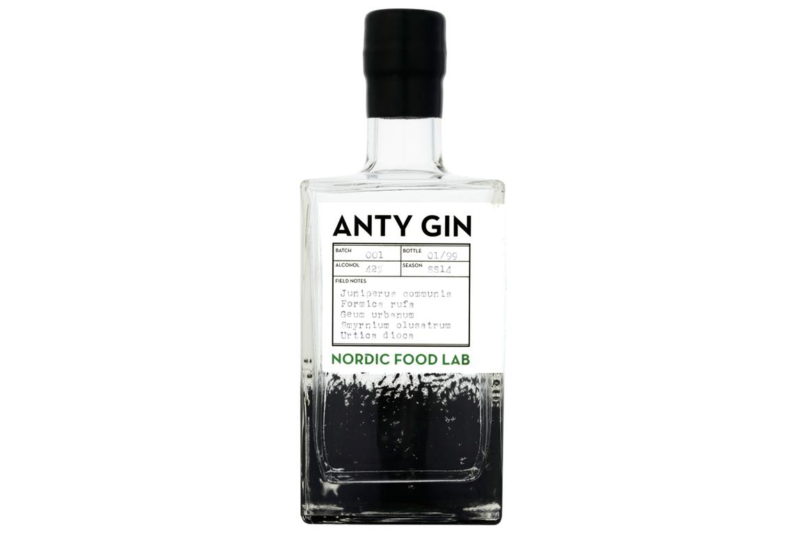 A new type of gin, distilled using the essence of the red wood ant, has been produced for sale in the UK