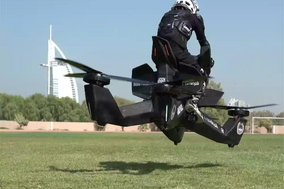 For $150,000 you can now order your own Hoverbike