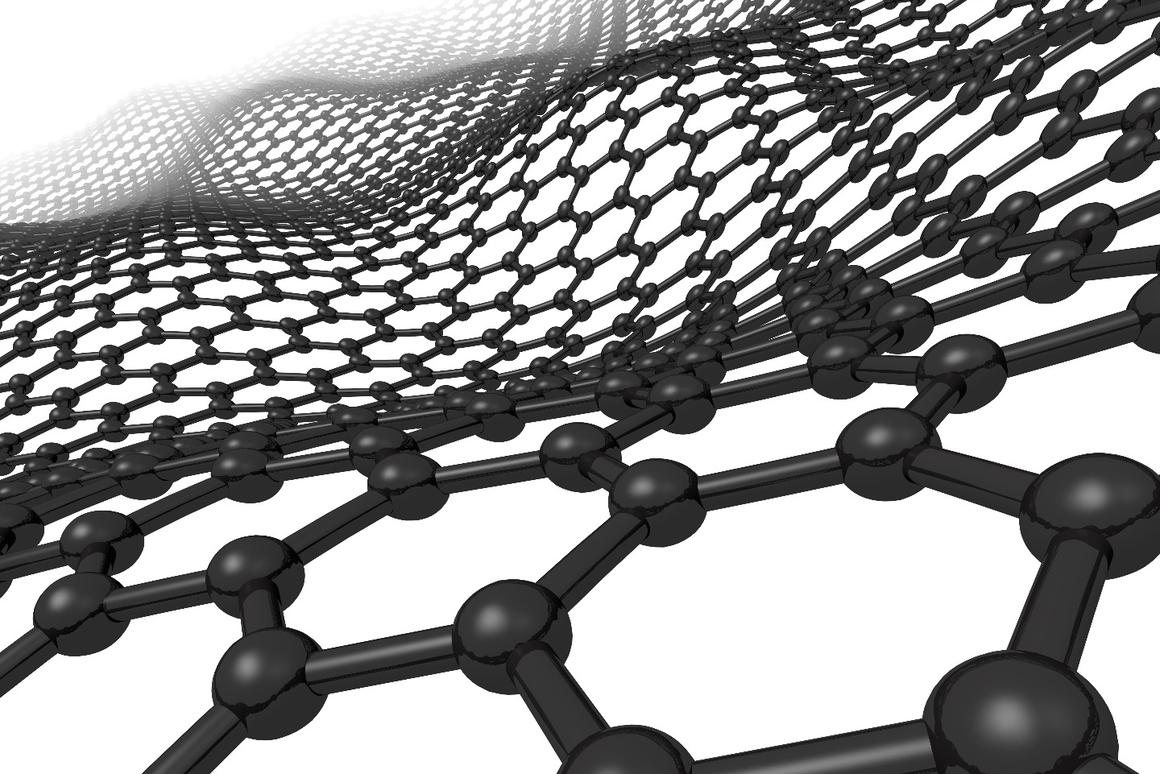 The natural wave-like movements of carbon atoms in graphene could turn the material into a potentially limitless source of energy