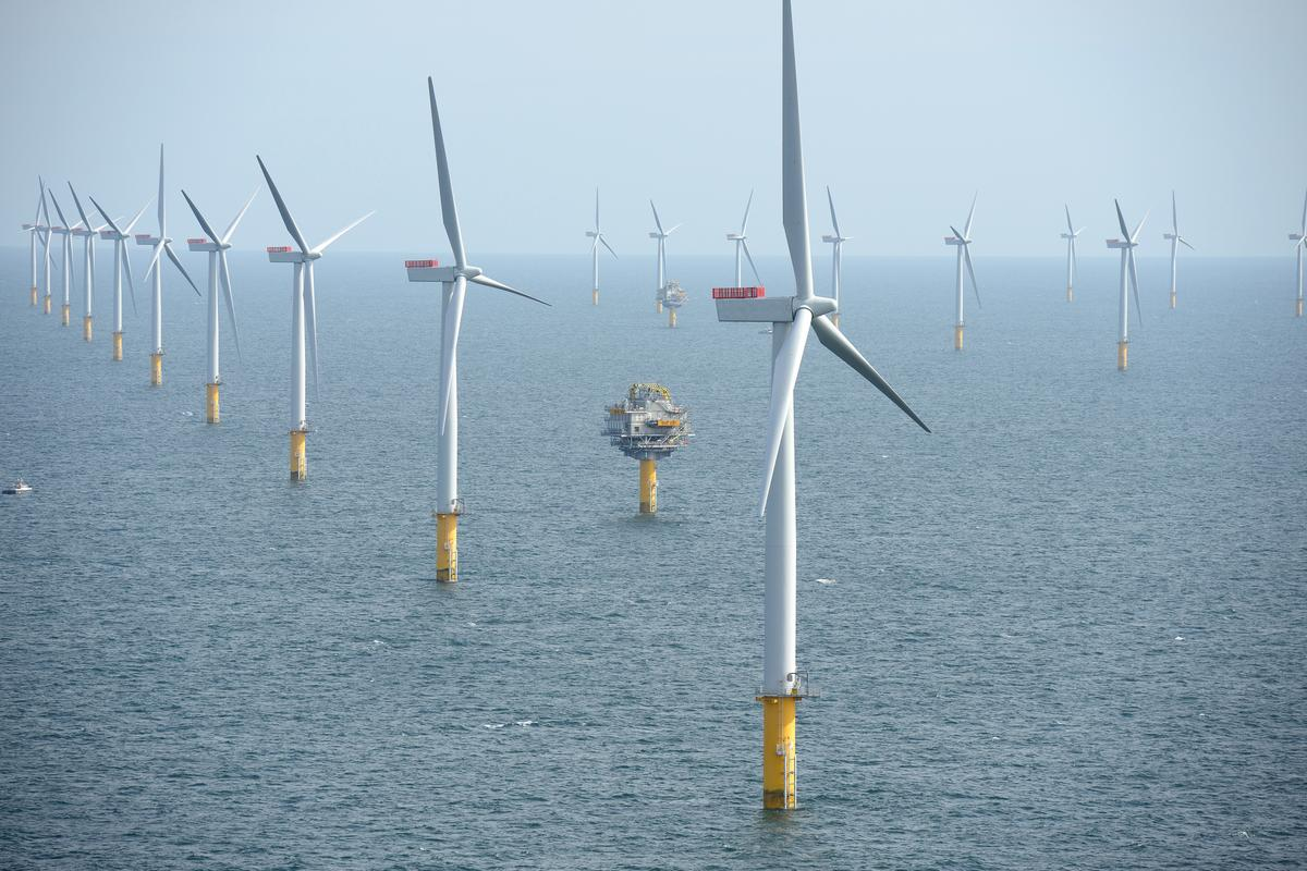 Sheringham Shoal Offshore Wind Farm, UK (Photo: Harald Pettersen/Statoil)