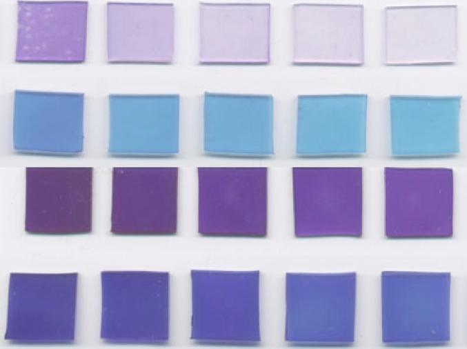 Samples of the coating, which contains dyes that make bacteria die