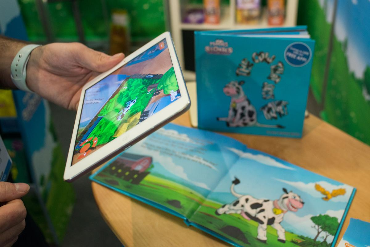 We try out the upcoming Mardles storybooks which come to life with augmented reality