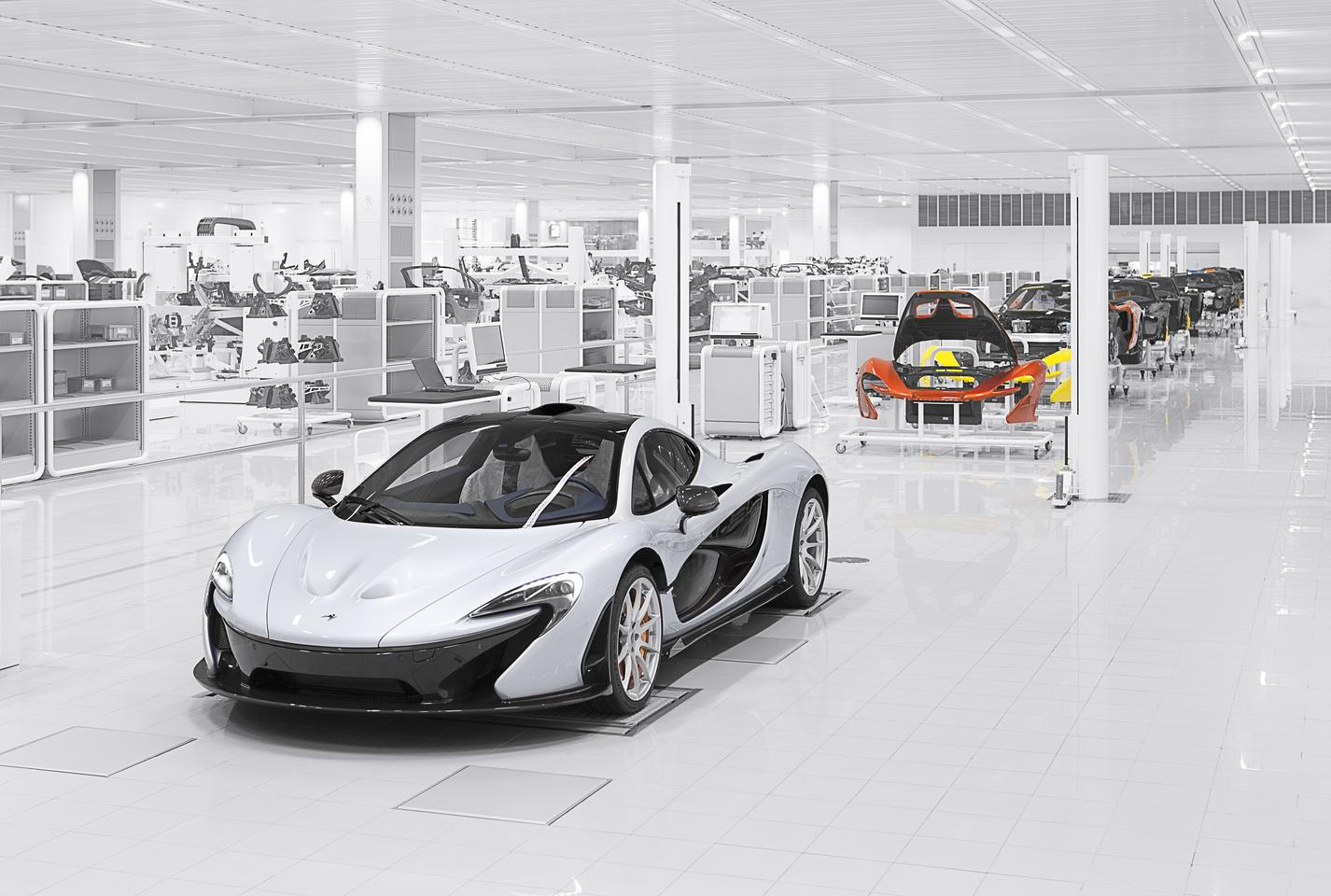 The McLaren P1 can do 0 to 100 km.h (62 mph) in 2.8 seconds