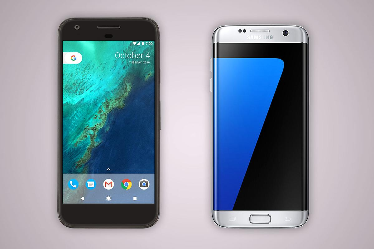Putting the Google Pixel XL toe-to-toe with the Samsung Galaxy S7 edge, the leading Android phablet
