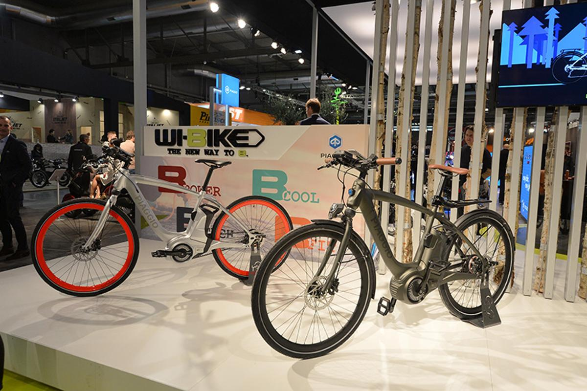 The Piaggio Wi-Bike comes in Comfort or Active styles