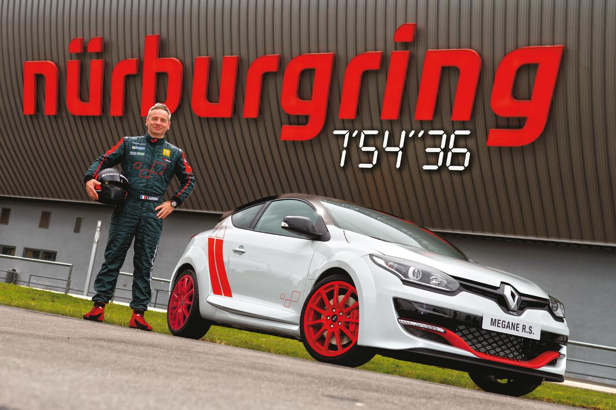 Renault's Megane R.S. 275 Trophy-R set a new Nurburgring lap record for front drive cars