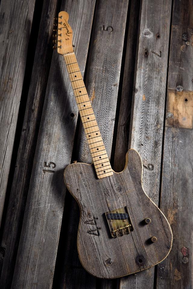 The Front Row Legend Esquire is built by Fender Custom Shop Master BuilderYuriy Shishkov